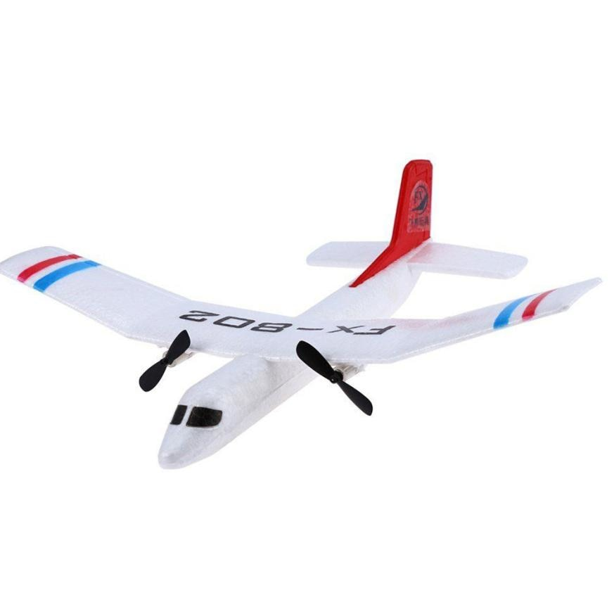 Costbuys  FX - 802 2.4GHz 2 Channel EPP Fixed-wing Aircraft Front-pull Dual Propel  Remote Quadcopter REMOTE CONTROL TOYS - Chin