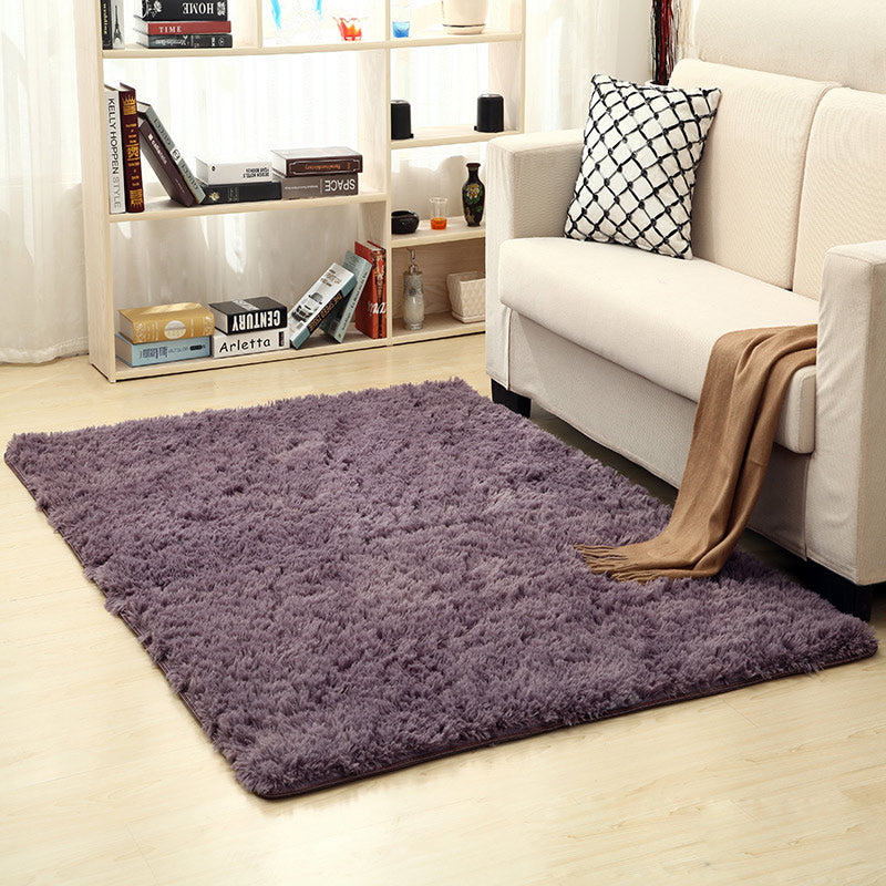 For Living Room Carpet Big Size Mat Long Hair Rug Bedroom Carpets And Rugs  For Bedroom