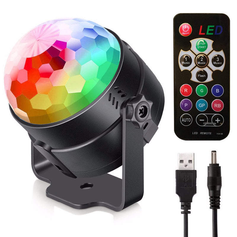 Costbuys  Colorfull Crystal magic ball Laser beam spot wash stage effect light for DJ disco moving head light