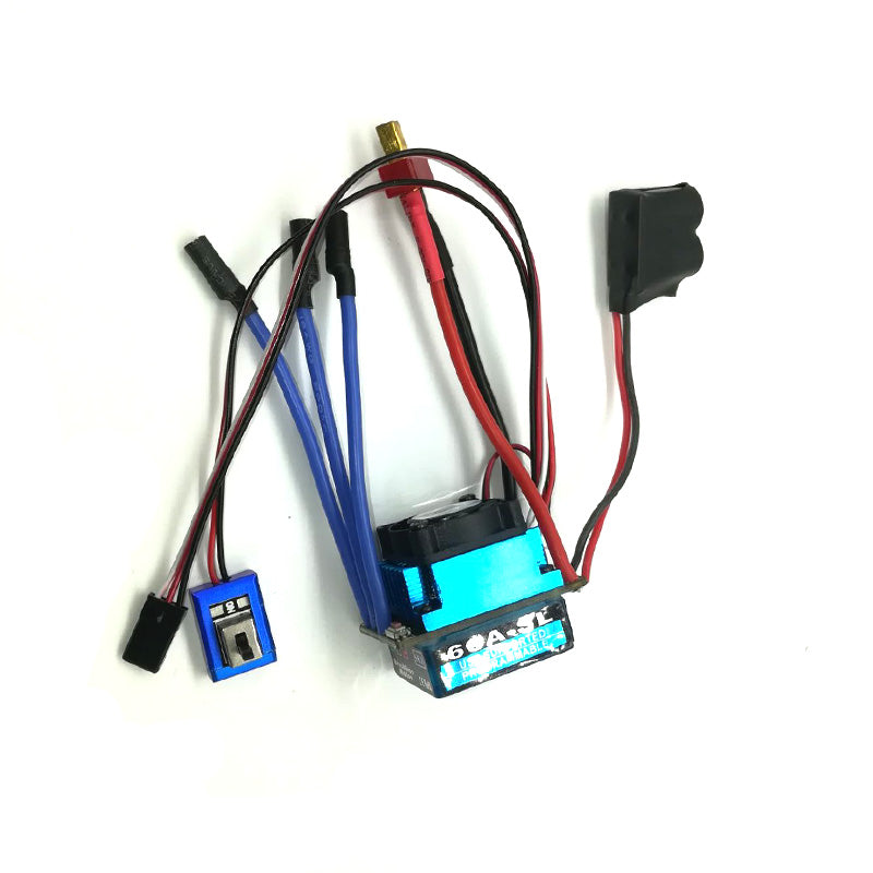 Costbuys  Free shipping Racing 60A ESC Brushless Electric Speed Controller For 1:10 RC Car Truck high quality Factory assembly h