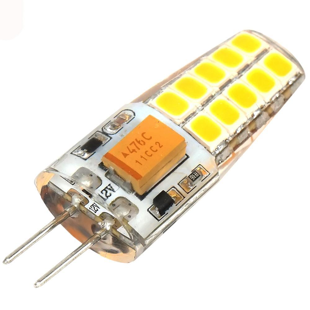 Costbuys  G4 LED Lamp 2W 4W G4 Light AC DC 12V 2835smd Corn Chandelier Lamps Decoration Bulb Replace Halogen Light Crystal luz l