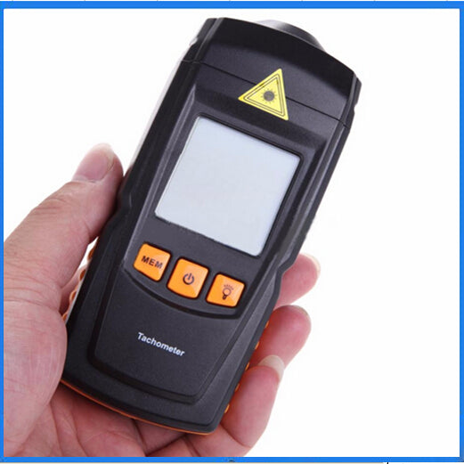 Costbuys  GM8905 LCD Digital Laser Tachometer Non-Contact RPM Tach Tester Meter Motor Speed Gauge Handheld