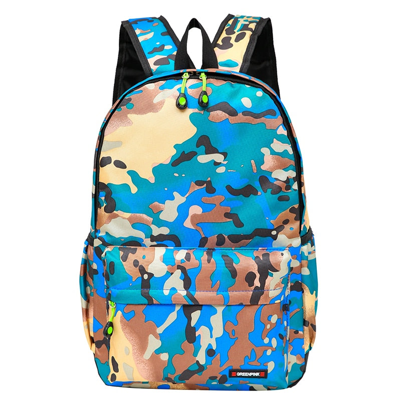 Costbuys  Nylon Backpack Women Fashion Printing School Bags for Teenagers Girls Backpacks Unisex Travel Bag Men Laptop Backpack