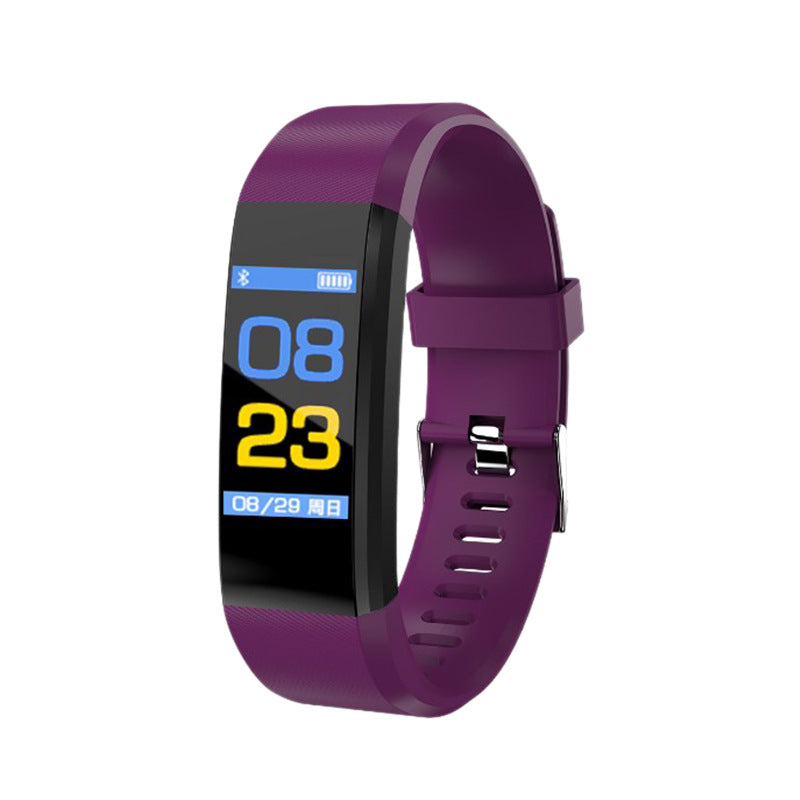 Costbuys  Smart Watch For Men women Color Screen Smart Bracelet Heart Rate Tracker Smartwatch Fitness Tracker for Android IOS -