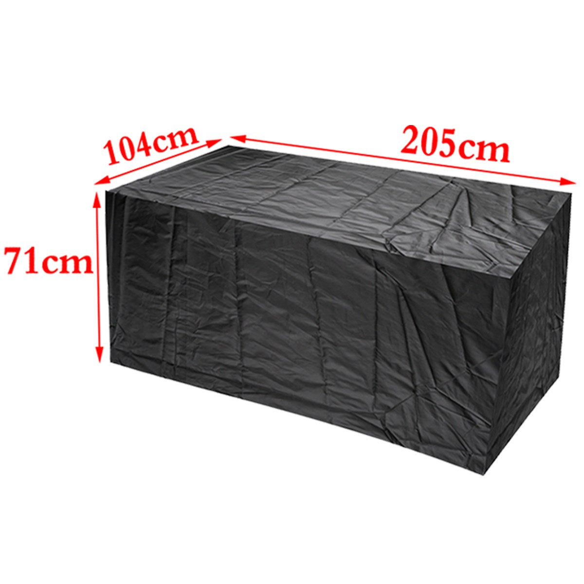 Costbuys  Garden Outdoor Patio Seater Chair Table Cloth Outdoor Waterproof Furniture Protector Table Set Chair Sofa Cover UV Res