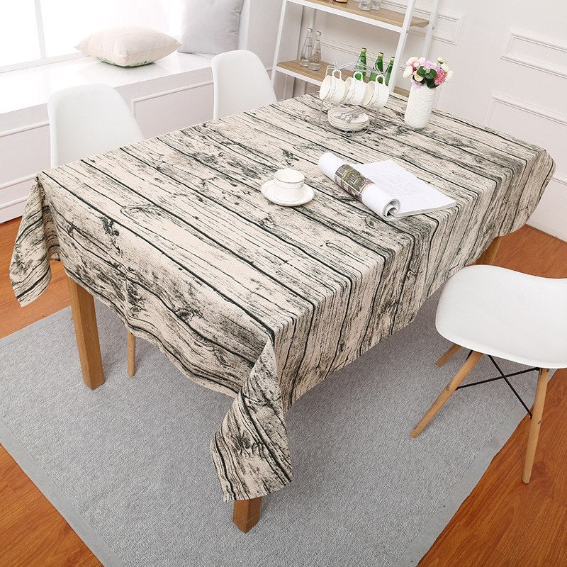 Costbuys  Geometric Table Cloth Round Tablecloth Nappe Table Cover Party Wedding Table Cloth for Home Table Decoration Mantel Ho