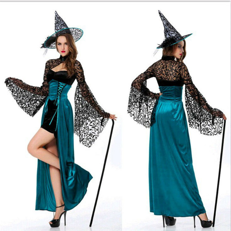 Gothic Sexy Halloween Costumes For Women Witch Fancy Dress Costume Woman  Vampire Plus Size Masquerade Dresses Cosplay Adults