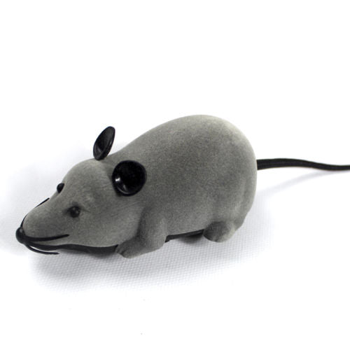 Costbuys  Grey Wireless Remote Control RC Electronic Rat Mouse Mice Toy For Cat Puppy Gift