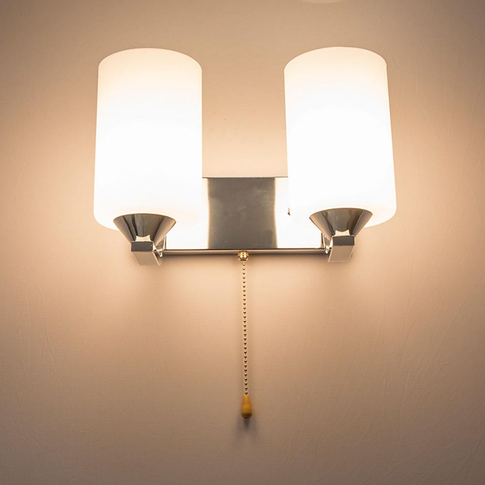 Costbuys  Lamp Wall Mounted Bedside Lamps Luminaria Wall Sconce 110V-220V E27 Led Wall Light Indoor Lighting Wall Lamps - HGSS-0