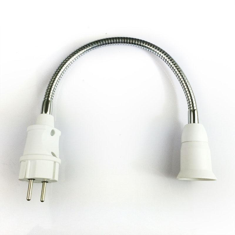 Costbuys  Conversion socket lampholder With no switch European gauge plugs into the E27 screw Lighting accessories Lamp socket