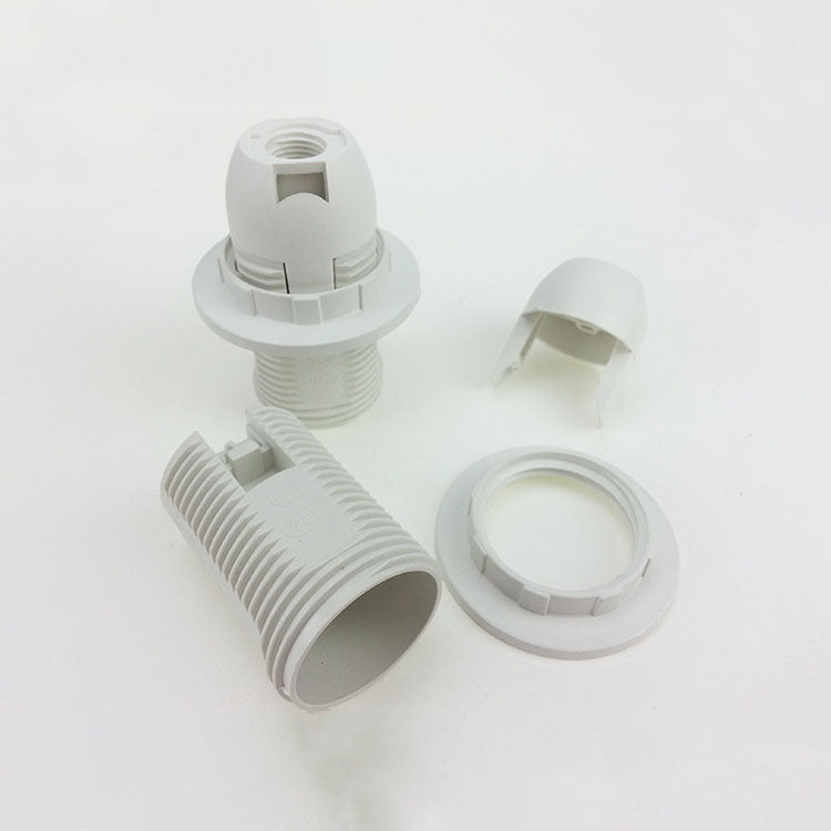 Costbuys  Full tooth E14 screw lampholder E14 Accessories for lamps Lampholder E14 Lighting accessories - White