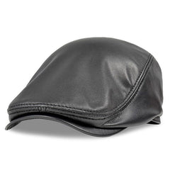 Genuine Leather baseball Cap sheep leather