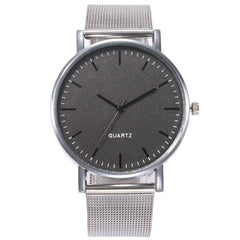 Luxury Man Watch Men Steel Mesh Strap Casual Creative Male Quartz Watch Fashion Dress Wristwatch