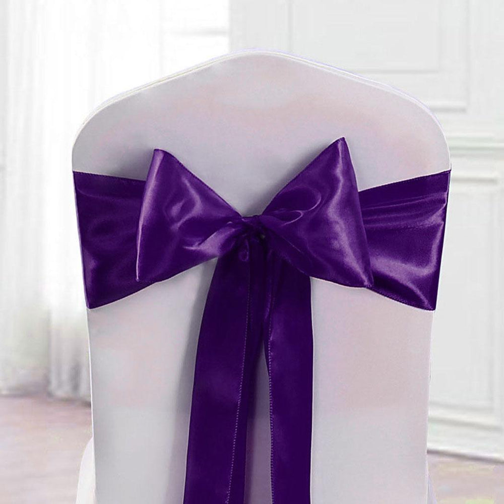 Chair Cover Bow Tie Sash for Wedding and Events Party Christmas, Decoration