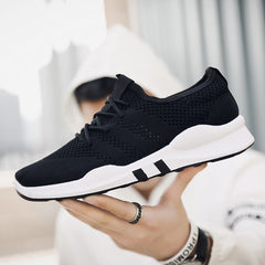 Men Casual Shoes Men Sneakers Breathable Fashion Men Shoes Slip On Walking Shoes White Sneakers Male Shoes Solid Men Footwear