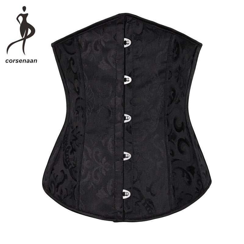 337a9e5be9a Faux Leather Waist Trainer Corset Steampunk Latex Waist Trainer Vest F –  Costbuys