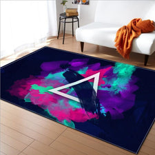 Fashion Print Soft Carpets for living room Carpet bathroom kitchen Anti-slip Floor Mat Rug bedroom Coffee table study Decor Rugs