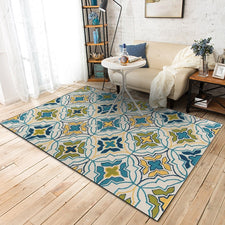 Modern Geometric Carpets For Living Room Home Bedroom Rugs And Carpets Flowers Decorative Coffee Table Soft Non-Slip Floor Mats