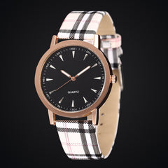 Fashion Casual Leather Strap Wristwatches Wholesale Luxury Women Dress Watches
