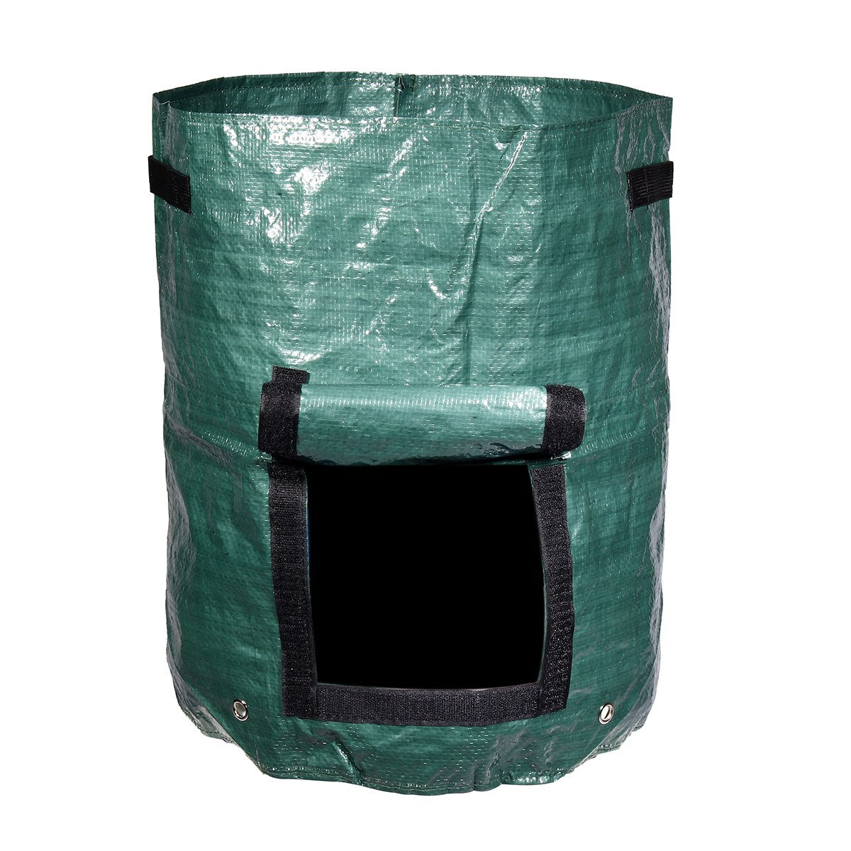 Costbuys  Green 60L Garden Composter Bin Grow Bag Eco Friendly Organic Compost Storage Bag Waste Converter Yard Garden Supplies