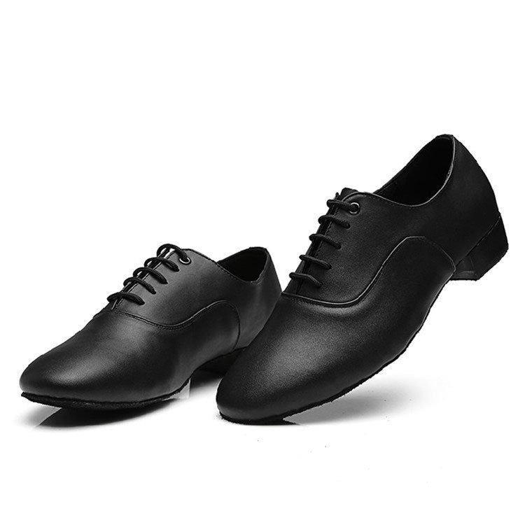 Professional men modern dance shoes sneakers for men soft genuine leather sole waltz ballroom dancing shoes men dance sneakers