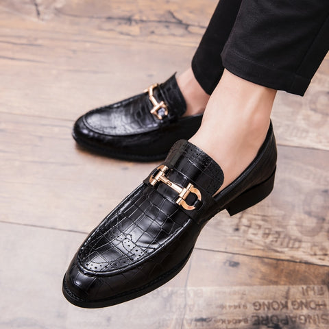 England mens shoes casual pointed toe Vintage Autumn shoes leather elevator shoes winter Men Tassel dress shoes