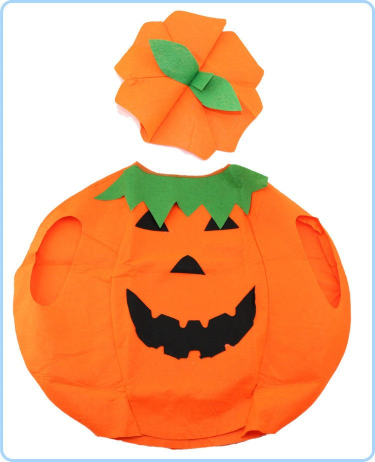 2 pieces set halloween costumes for women men adult pumpkin costume outfit clothes