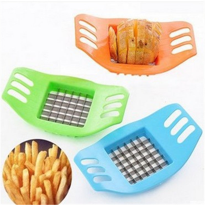 Costbuys  1Pcs Kitchen Accessories Potatoes Cutters Cut Potato Chips French Fried Food Cutters Cooking Tools for Kitchen Gadget.