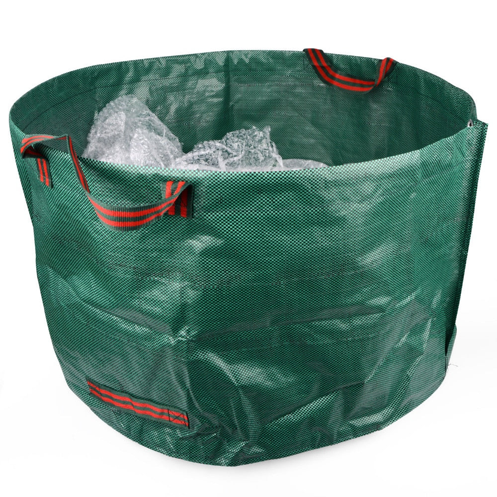 Costbuys  79*42cm Garden Storage Bag Planting PE Growing Bags Grass Leaves Cleaning Bag Home Garden Supplies