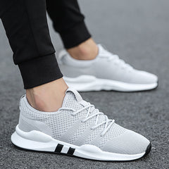 Lightweight Sneakers Mens Shoes Sport Trainers White Breathable Soft Comfortable Sneakers Spring Summer