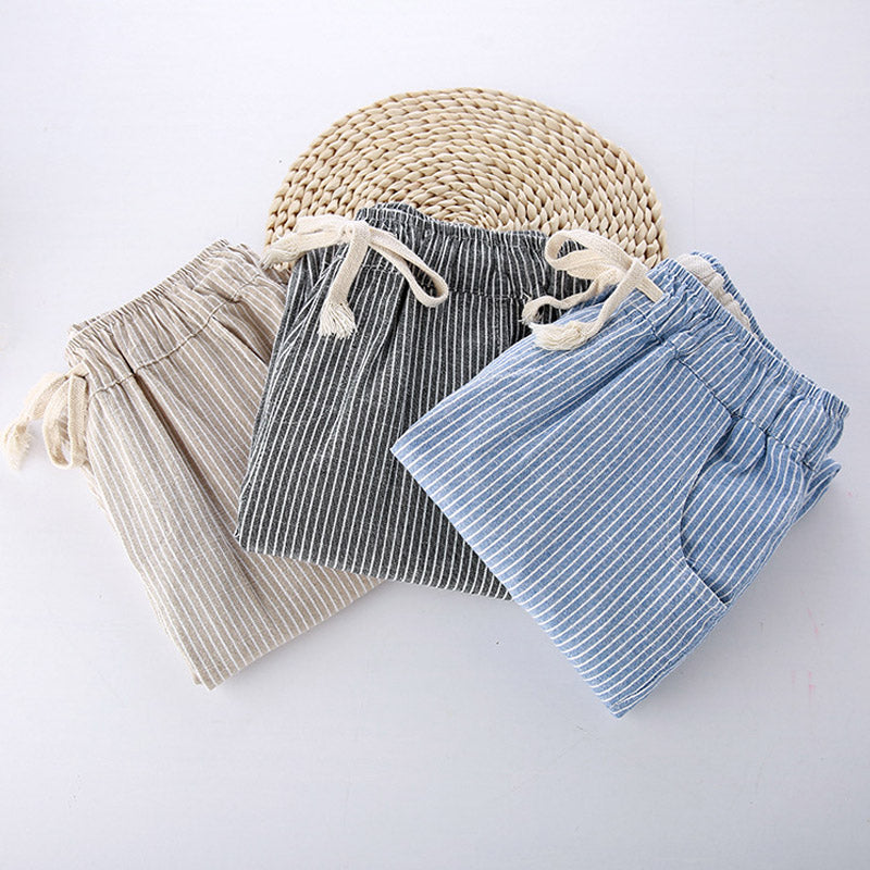 Casual Pants Linen Loose Female Striped Autumn Woman Cotton Fashion Women New Womens Pants Full Length Pants