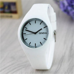 Fashion Silicone women's Watches Thin Women Dress Quartz Watch Girls simple style Wrist Watch clock