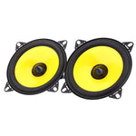 Car HiFi Full Range Speaker Paired 4 inch Vehicle Loudspeaker Automobile Automotive Audio Stereo Frequency Speakers 2pcs