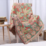 Sofa Throw Blanket 100%Cotton Tassel Blanket Sofa TV Decorative Blanket Bed/Plane Travel Plaids Cover 180x230cm