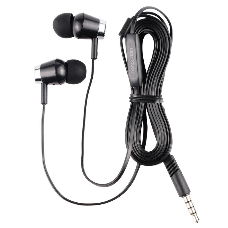 R30 In Ear Earphones 3.5mm Stereo Bass Headsets With microphone Audio And Video For XiaoMi For iphone For Smart Phone