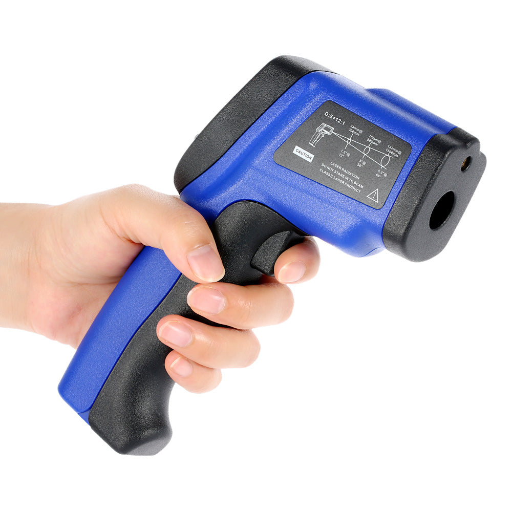Costbuys  Handheld Digital Laser IR Infrared Thermometer Non-Contact LCD termometro Temperature Tester diagnostic-tool Pyrometer