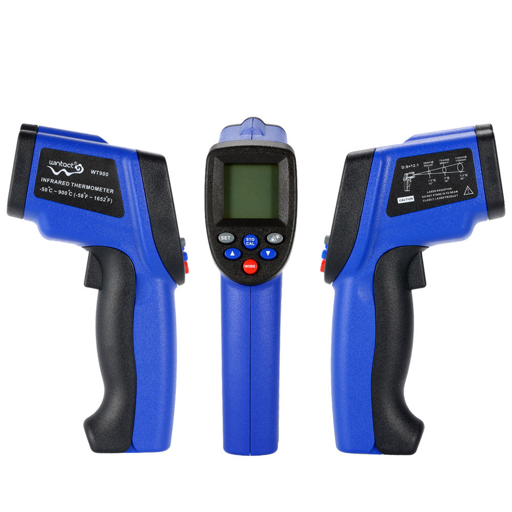 Costbuys  Handheld Non-Contact Digital LCD Laser IR Infrared Thermometer Temperature Tester Pyrometer Range -50~950C