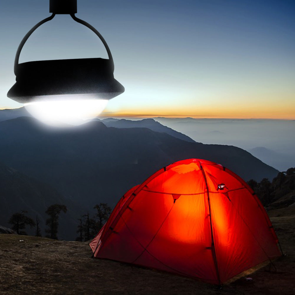 Costbuys  Hanging LED Outdoor Portable Camping Tent Light Bulb Fishing Lantern Lamp Torch Outdoor Accessories - Blue