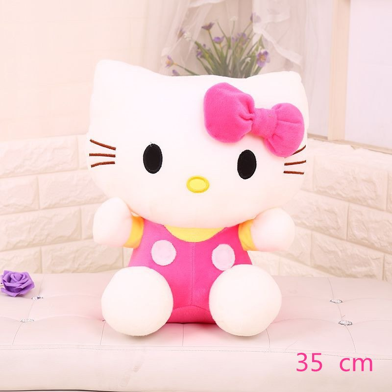 Costbuys  Hello Kitty children plush toys kids baby toys lively cute doll hello kitty toy gift - 5