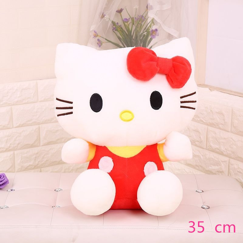 Costbuys  Hello Kitty children plush toys kids baby toys lively cute doll hello kitty toy gift - 6