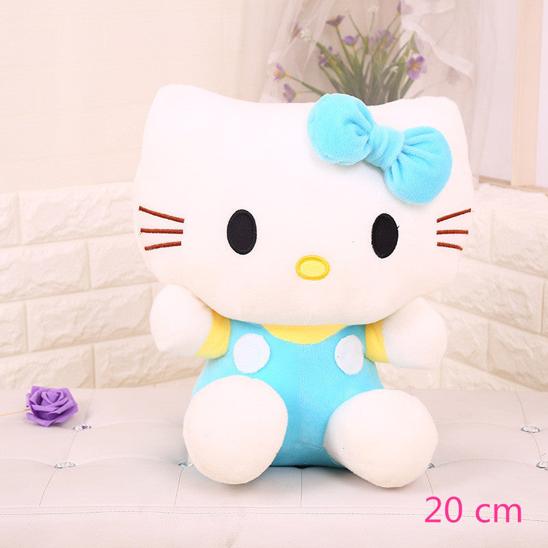 Costbuys  Hello Kitty children plush toys kids baby toys lively cute doll hello kitty toy gift - 1