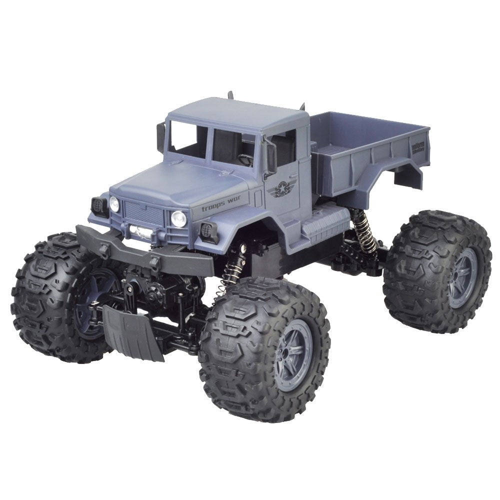 Costbuys  High-Performance Climbing RC Car 4WD 1:12 Bigfoot Truck Remote Control Model Crawler Car Desert Truck Off-Road Vehicle