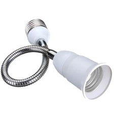 High Quality E27 LED Light Bulb Lamp Holder Flexible Extension Adapter Socket Home Accessories