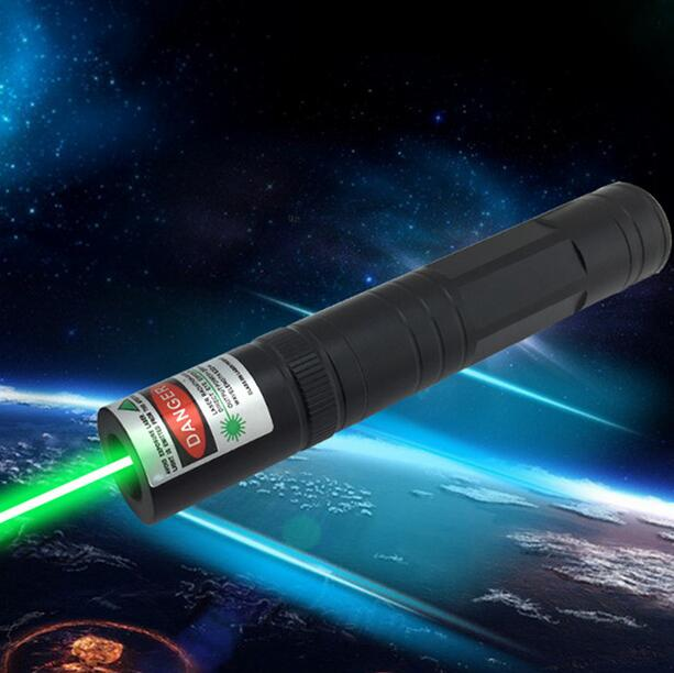 Costbuys  High Quality Laser 850 only 10000m Green laser pointer single pointer Adjustable Focal Length Visible Beam Bright - 5m