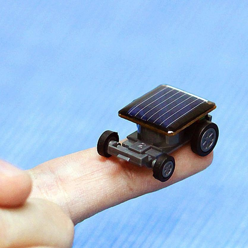 Costbuys  High Quality Smallest Mini Car Solar Power Toy Car Racer Educational Gadget Children Kid's Toys - China