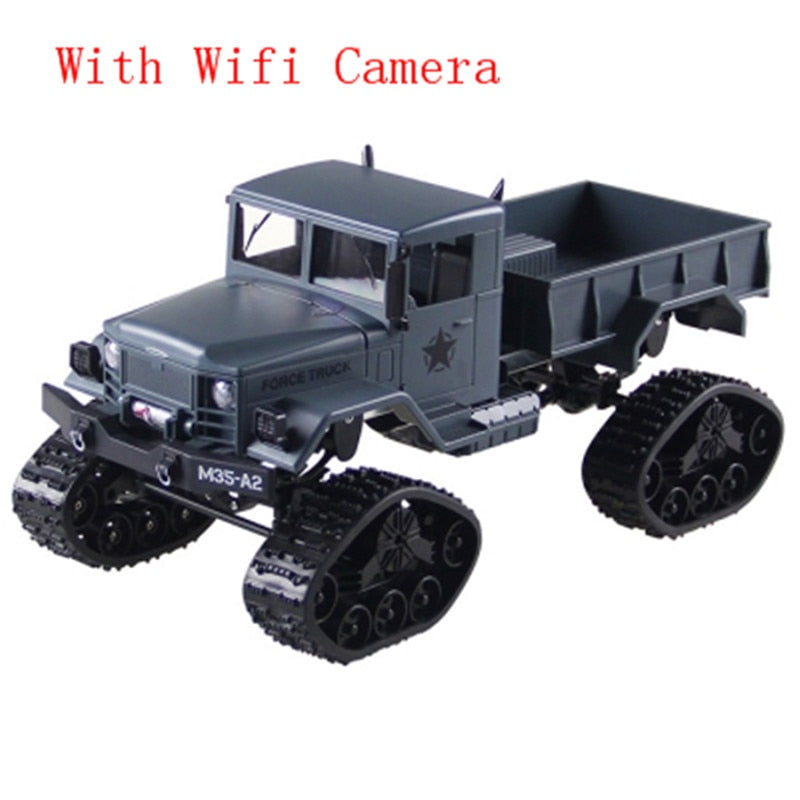Costbuys  High Speed RC Cars 1/16 2.4G 4WD Remote Control RC Car Toys Brushed Off-Road Truck Snow Tires With Front Light RTR Xma