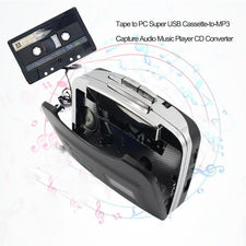 Home Audio Video Equipments Music Player Converter Capture Cassette Recorder Tape to PC USB Cassette to MP3 CD Digital Audio