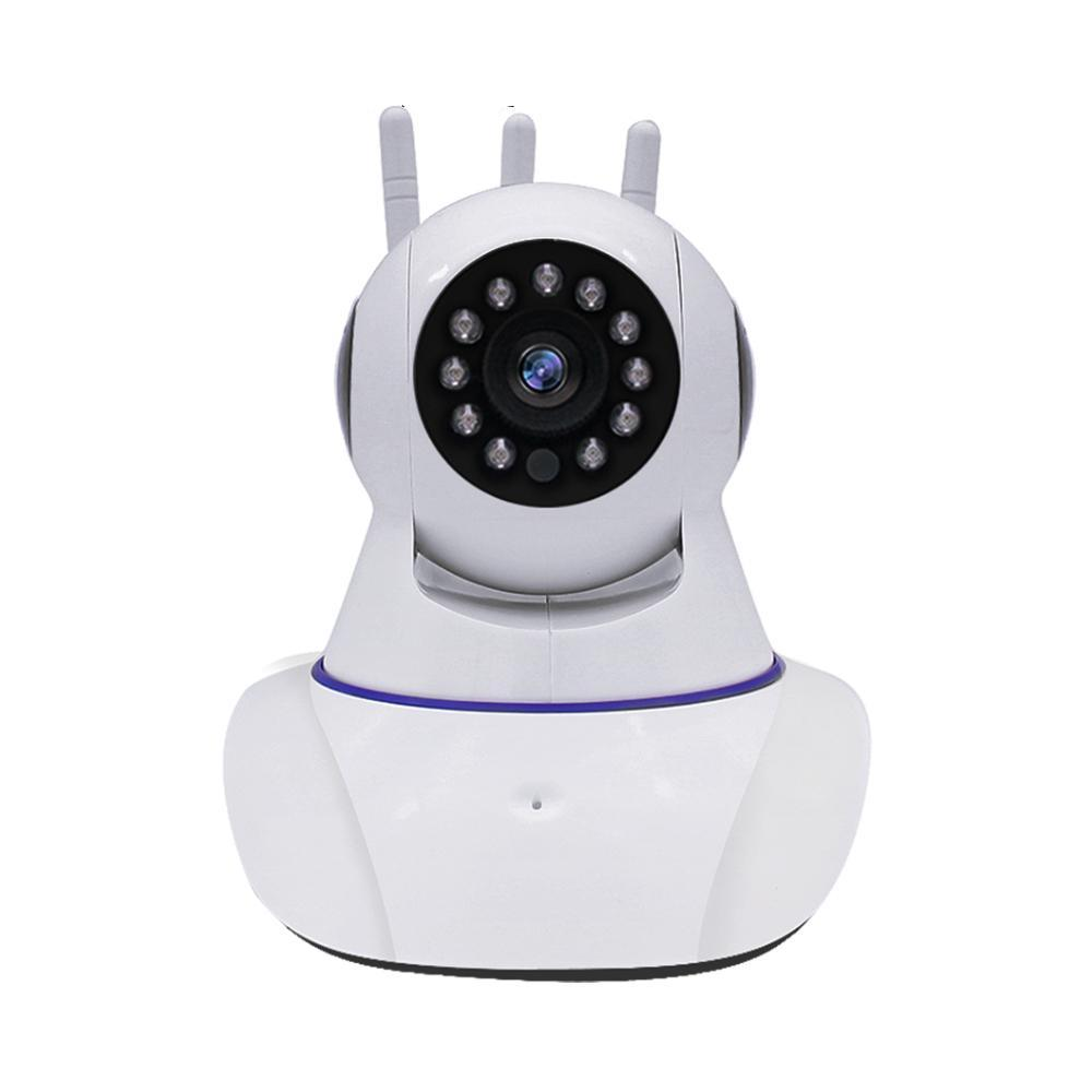Costbuys  Home Security IP Camera WI-FI WiFi Camera Wireless Audio Record Surveillance Baby Monitor HD Mini CCTV Camera Video Su