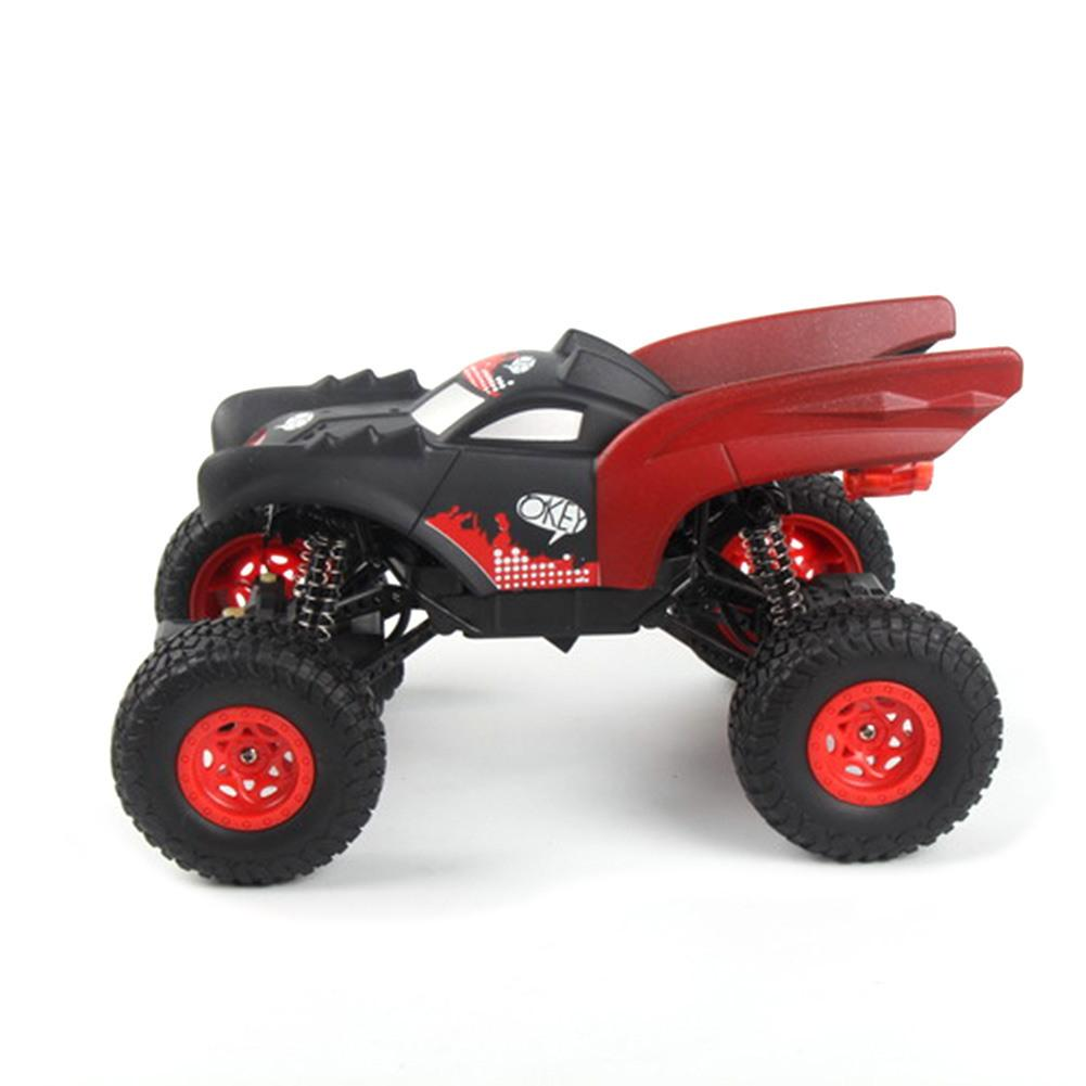 Costbuys  Climbing Bat RC CAR Rechargeable Remote Control Big Wheel Two-wheel Drive Toy 2.4G Remote Control Car Built-in Battery