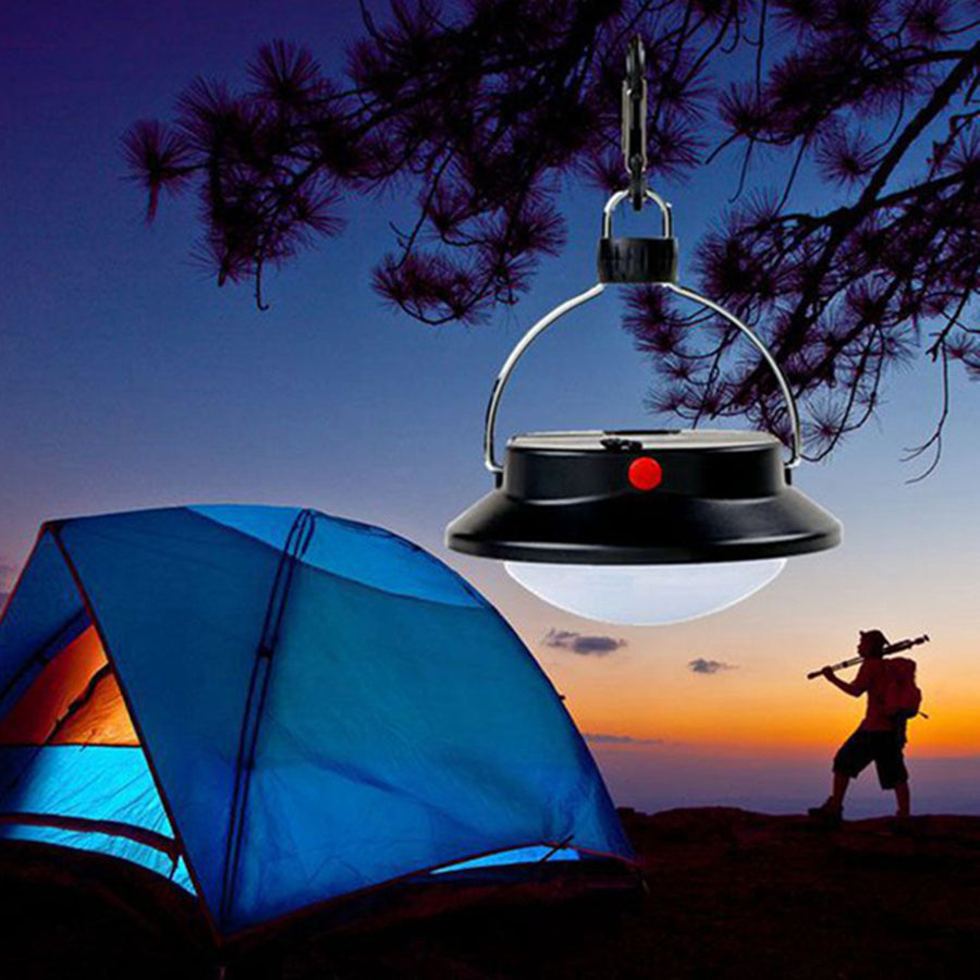 Costbuys  Hot Portable Camping Lights Outdoor 60 LED Outdoor Tent Lamp Campsite Hanging Night Light White Lamp with Battery Fish